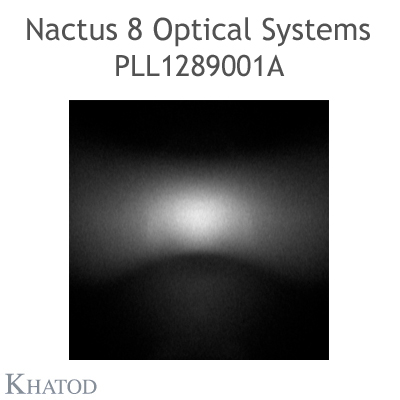 Nactus 8 Optical System with 8 Lenses - Module dimensions: 173,00mm x 71,40mm side - Lens pitch: 25,40 mm - IESNA TYPE II MEDIUM CUT-OFF