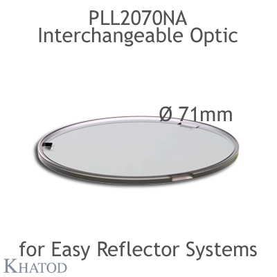 Interchangeable Optic for EASY Reflector Systems - 71.83mm diameter - 4.50mm height