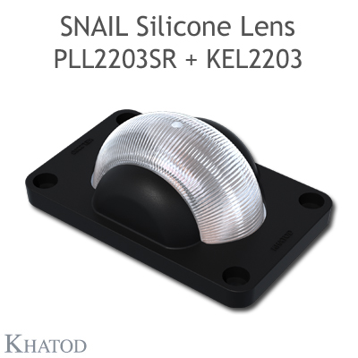 Holder for SNAIL Silicone Lens for windows and doors applications - 45.00mm x 72.00mm side - 20.16mm height