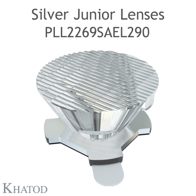 Single Lens with adhesive tape fixing - 21.60mm diameter - 11.70mm height - Elliptical Beam