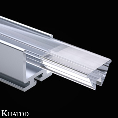 Strip Lenses for Power LEDs - 200,00mm x 12,50mm side - 8,50mm height